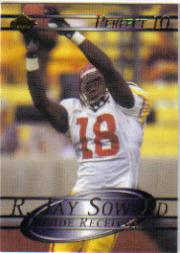 2000 Collector's Edge Supreme Perfect Ten #3 R.Jay Soward