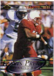 2000 Collector's Edge Supreme Perfect Ten #9 Travis Prentice