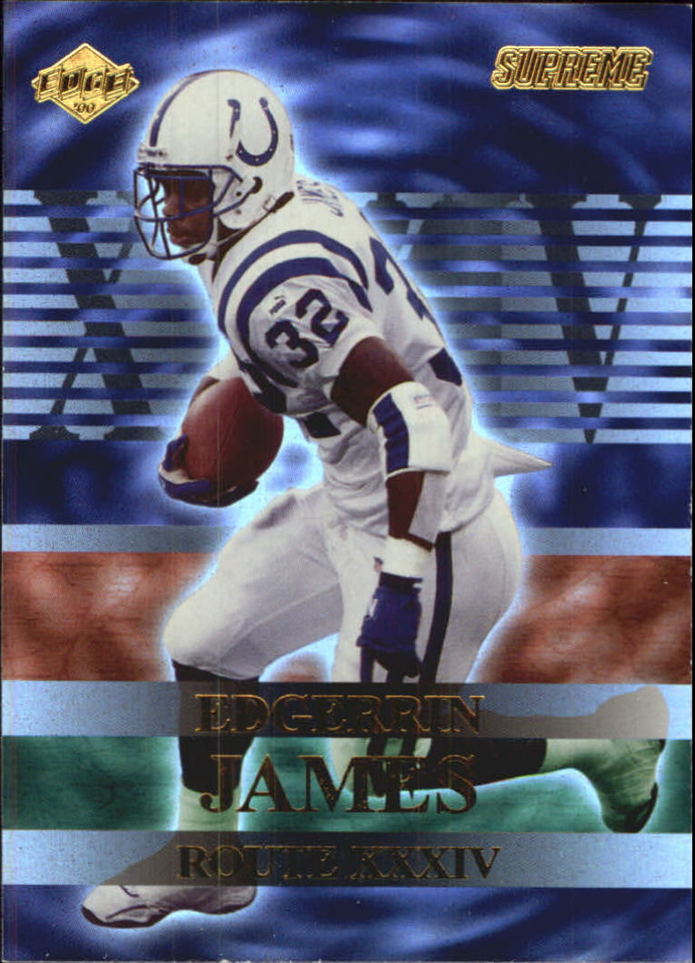 2000 Collector's Edge Supreme Route XXXIV #R2 Edgerrin James