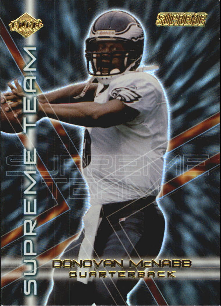 2000 Collector's Edge Supreme Team #ST6 Donovan McNabb