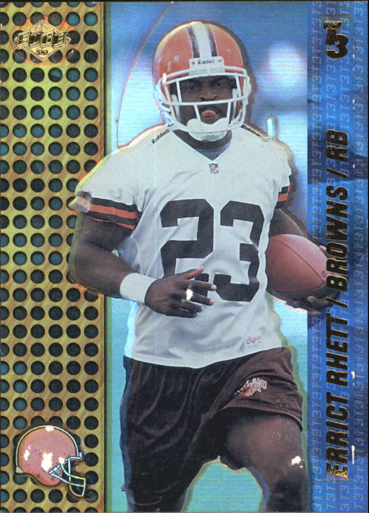 2000 Collector's Edge T3 #35 Errict Rhett