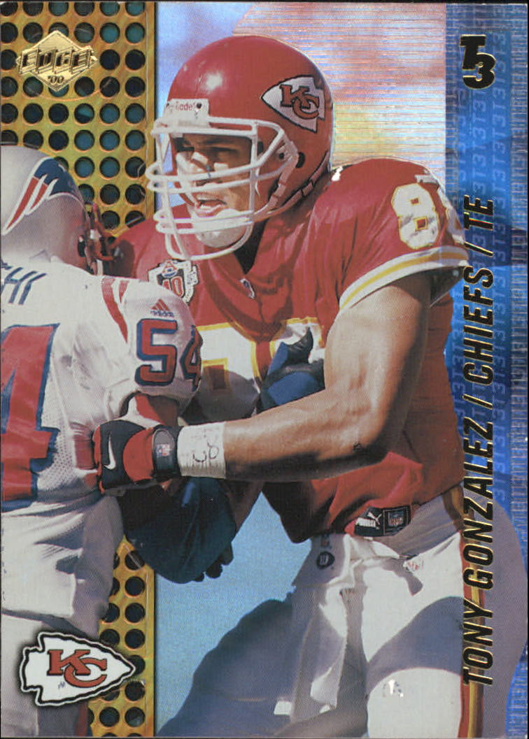2000 Collector's Edge T3 #68 Tony Gonzalez