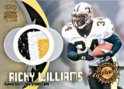 2000 Crown Royale Game Worn Jerseys #4 Ricky Williams