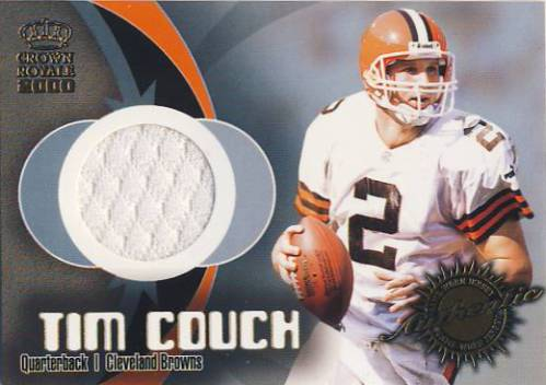 2000 Crown Royale Game Worn Jerseys #9 Tim Couch