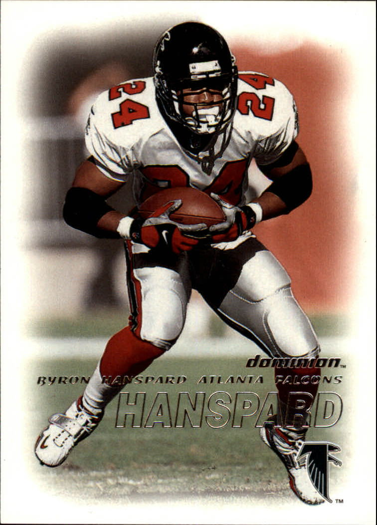 2000 SkyBox Dominion #2 Byron Hanspard