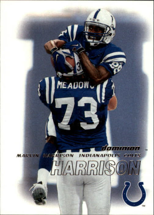 2000 SkyBox Dominion #9 Marvin Harrison