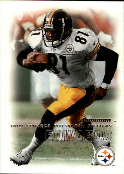 2000 SkyBox Dominion #16 Troy Edwards