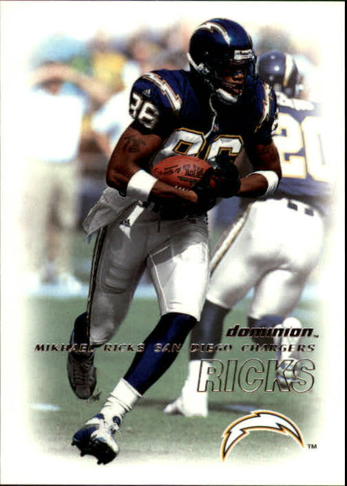 2000 SkyBox Dominion #17 Mikhael Ricks
