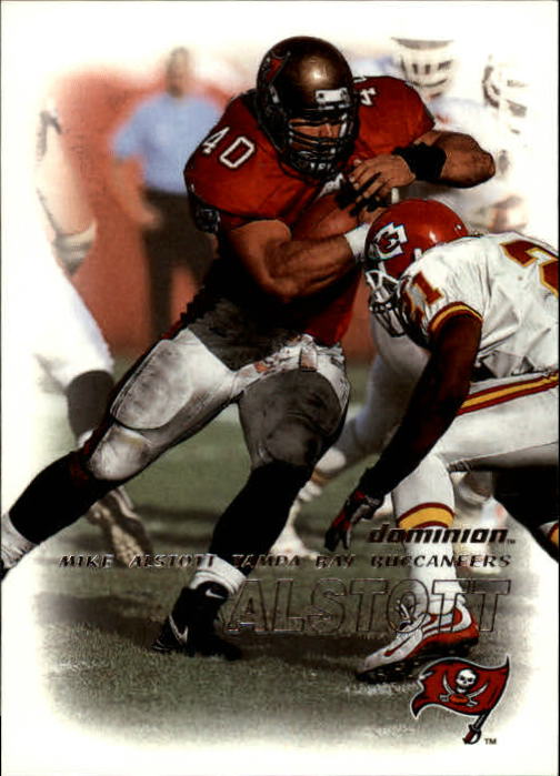 2000 SkyBox Dominion #20 Mike Alstott