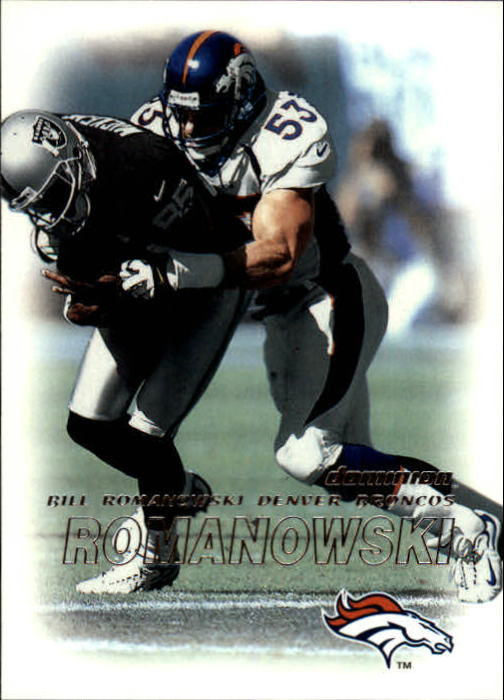 2000 SkyBox Dominion #28 Bill Romanowski