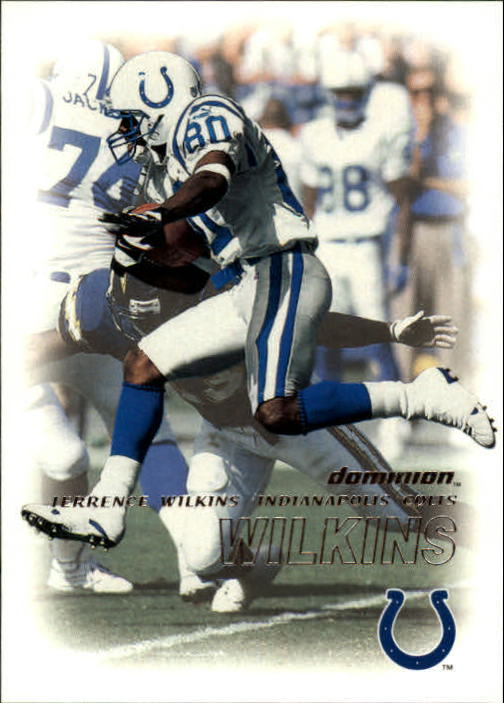 2000 SkyBox Dominion #30 Terrence Wilkins