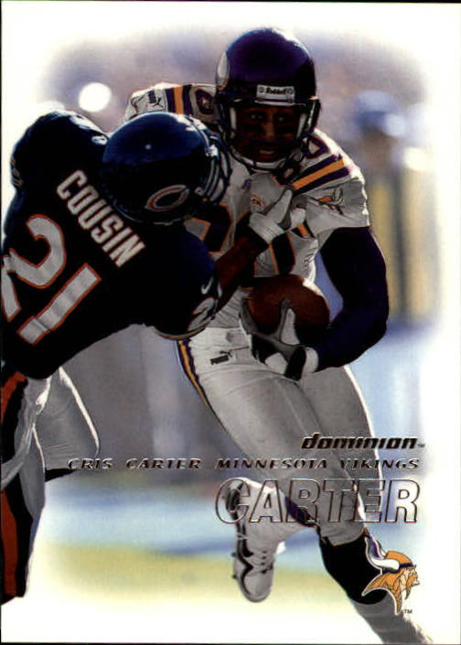 2000 SkyBox Dominion #33 Cris Carter