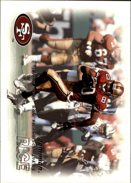 2000 SkyBox Dominion #39 Jerry Rice