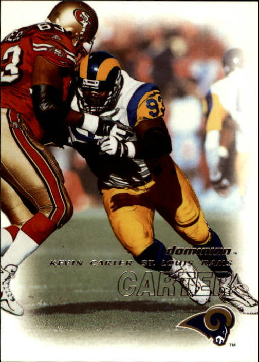 2000 SkyBox Dominion #41 Kevin Carter