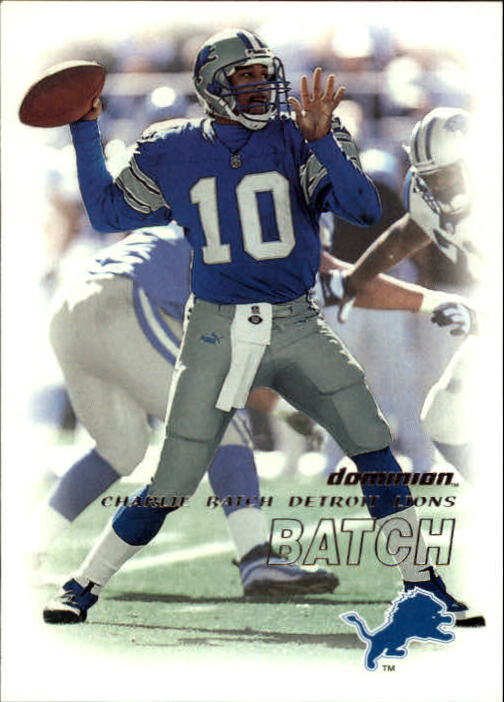 2000 SkyBox Dominion #49 Charlie Batch