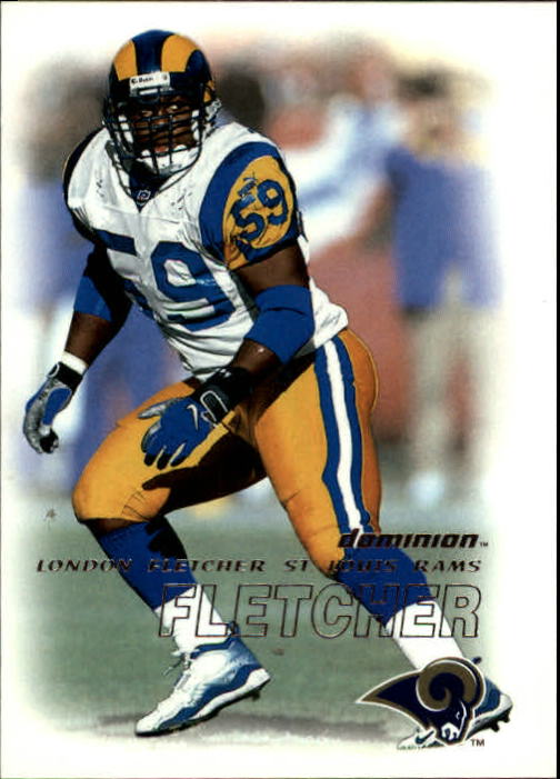 2000 SkyBox Dominion #62 London Fletcher RC