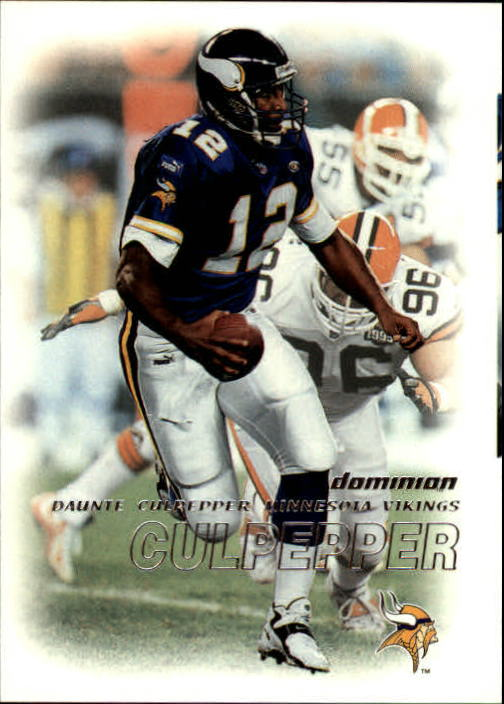 2000 SkyBox Dominion #65 Daunte Culpepper