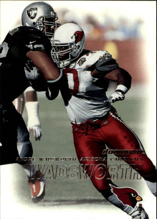 2000 SkyBox Dominion #66 Andre Wadsworth