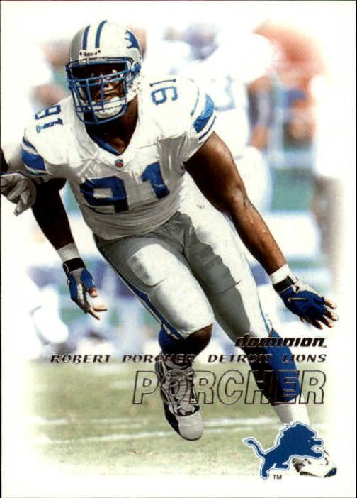 2000 SkyBox Dominion #72 Robert Porcher