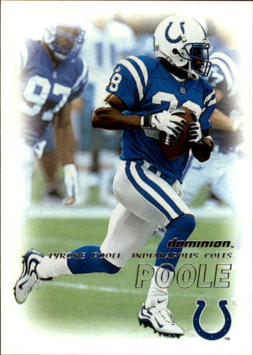 2000 SkyBox Dominion #74 Tyrone Poole