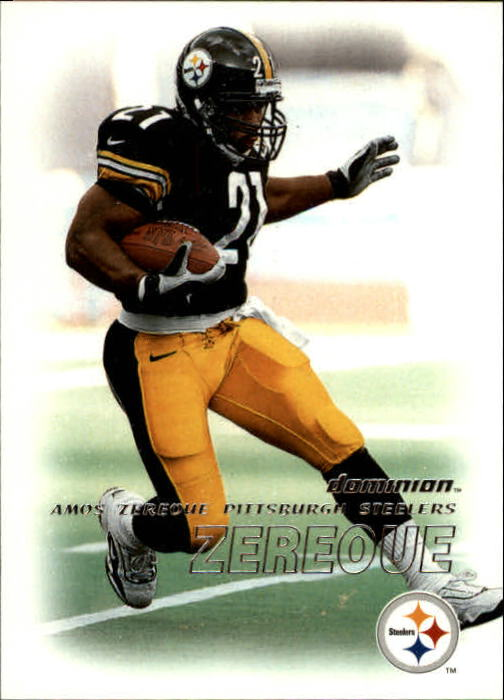 2000 SkyBox Dominion #81 Amos Zereoue