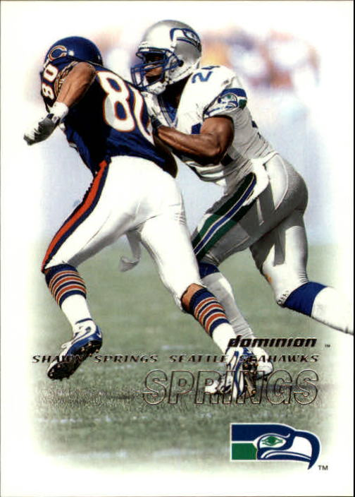 2000 SkyBox Dominion #83 Shawn Springs