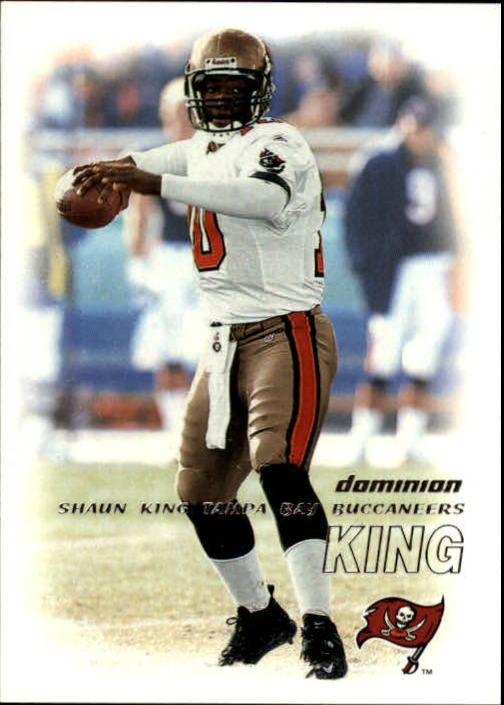 2000 SkyBox Dominion #84 Shaun King