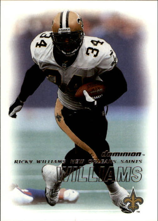 2000 SkyBox Dominion #87 Ricky Williams