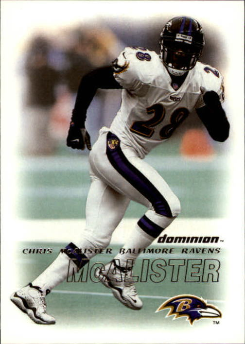 2000 SkyBox Dominion #89 Chris McAlister