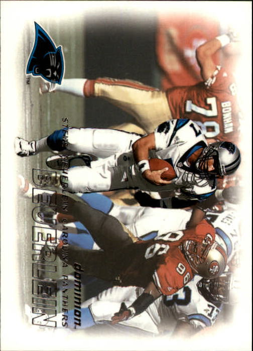 2000 SkyBox Dominion #90 Steve Beuerlein