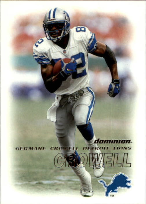 2000 SkyBox Dominion #94 Germane Crowell