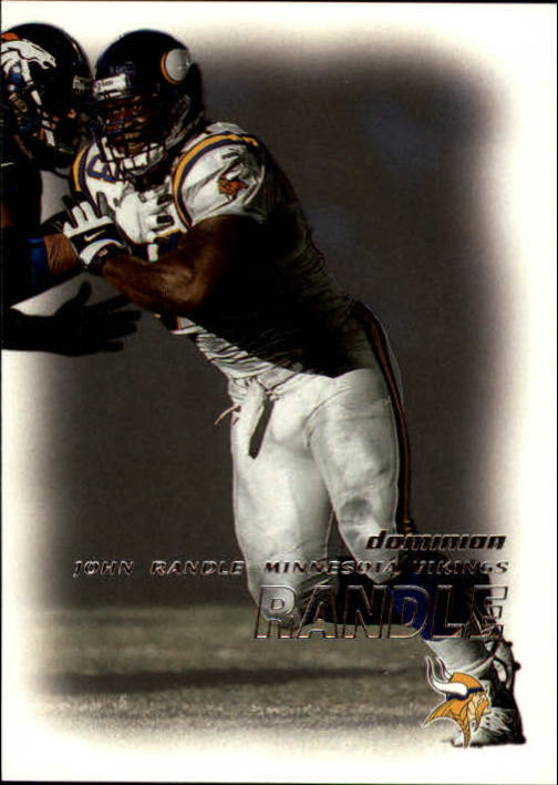 2000 SkyBox Dominion #99 John Randle