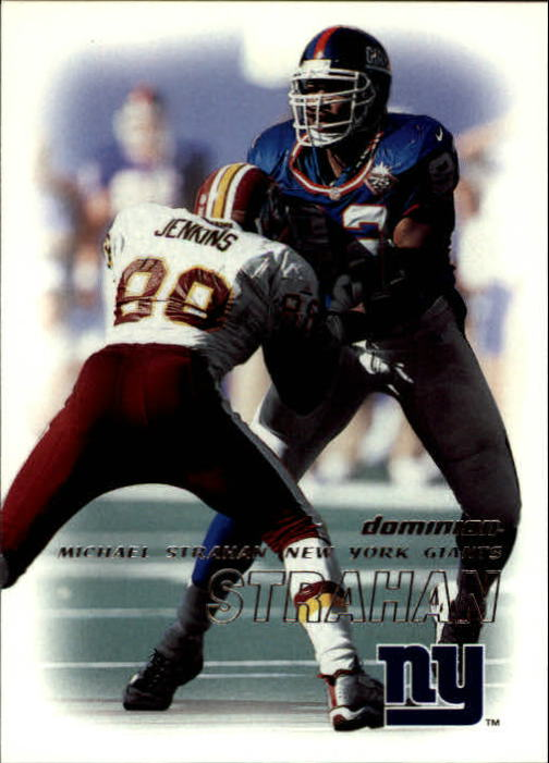 2000 SkyBox Dominion #100 Michael Strahan