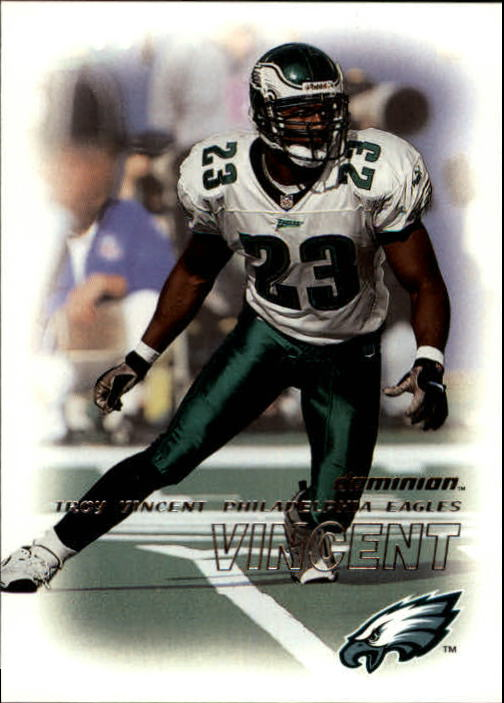 2000 SkyBox Dominion #124 Troy Vincent