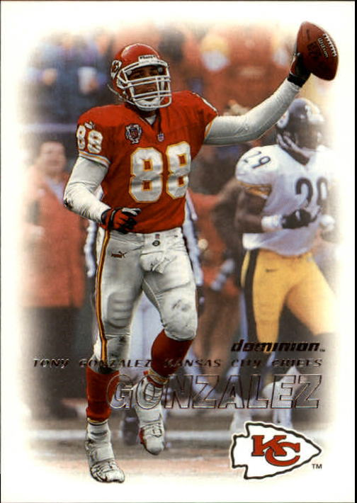 2000 SkyBox Dominion #140 Tony Gonzalez