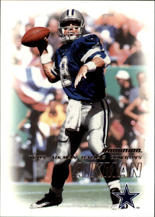 2000 SkyBox Dominion #157 Troy Aikman