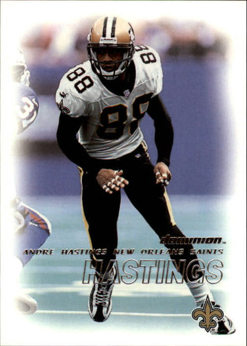 2000 SkyBox Dominion #165 Andre Hastings