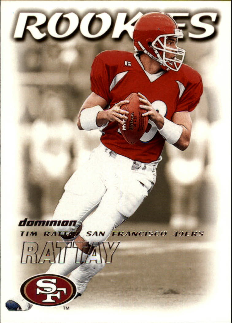 2000 SkyBox Dominion #228 Tim Rattay RC