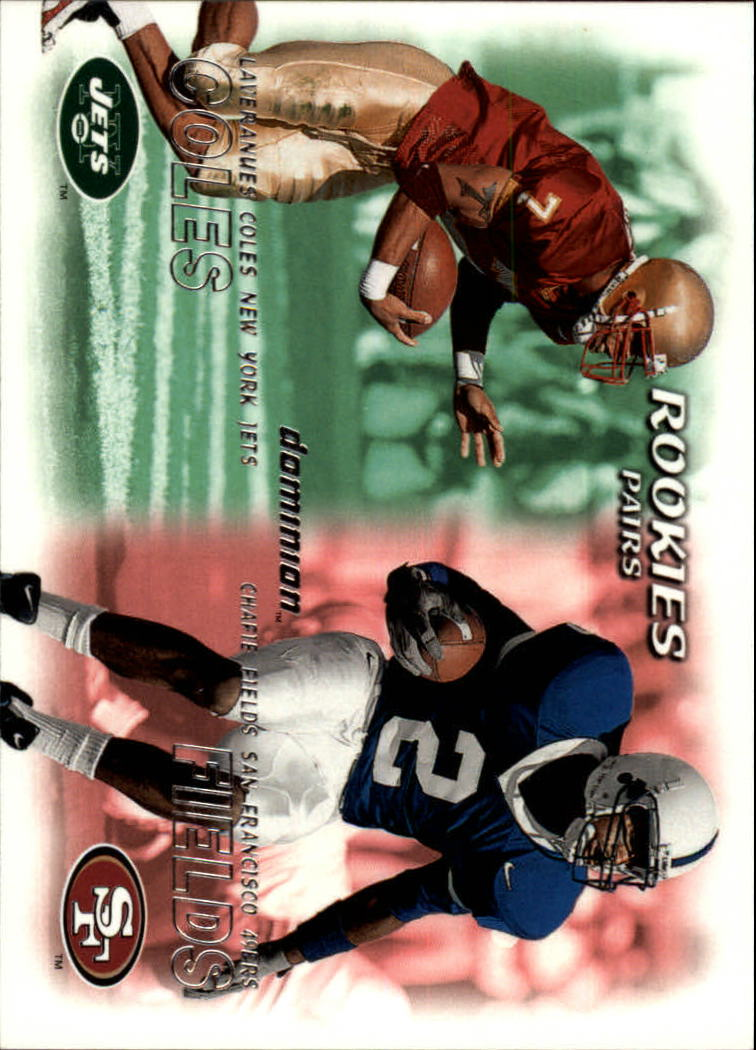 2000 SkyBox Dominion #235 L.Coles RC/C.Fields RC