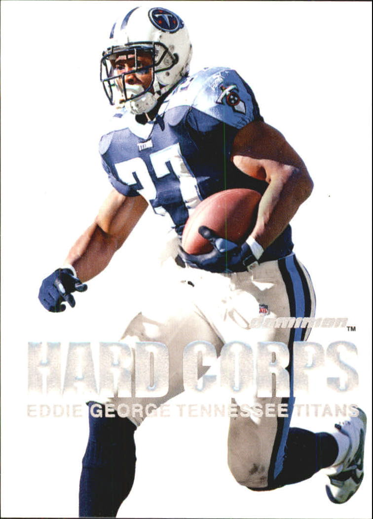 2000 SkyBox Dominion Hard Corps #2 Eddie George