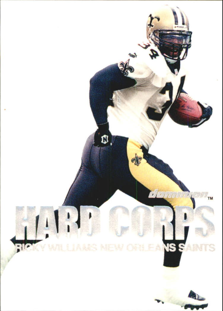 2000 SkyBox Dominion Hard Corps #6 Ricky Williams