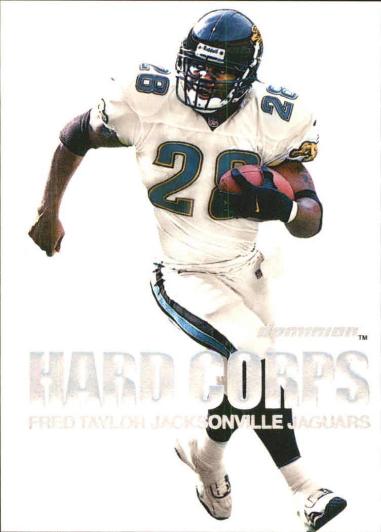 2000 SkyBox Dominion Hard Corps #8 Fred Taylor