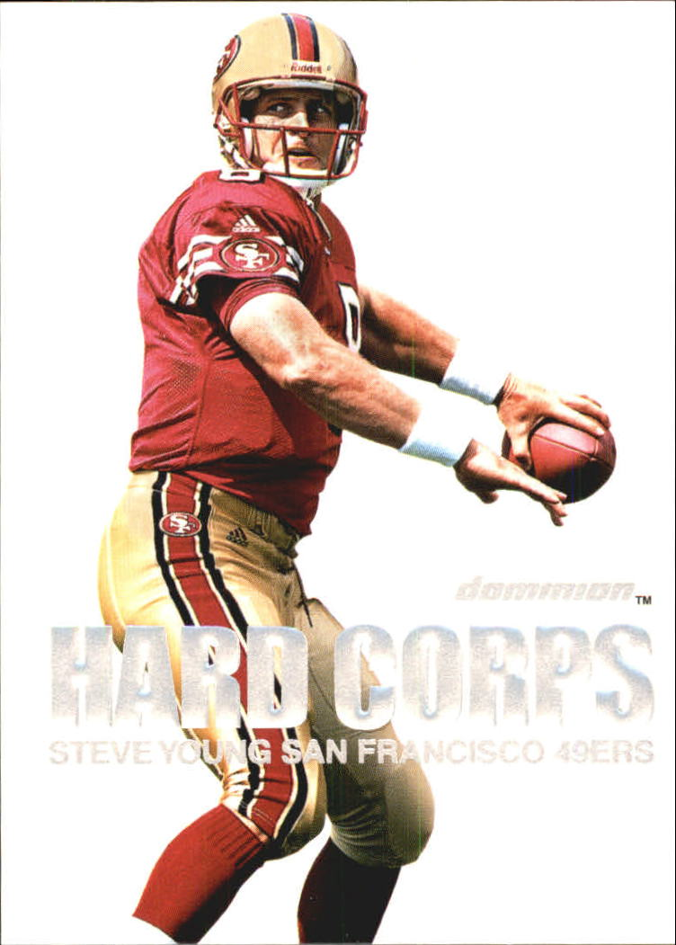 2000 SkyBox Dominion Hard Corps #9 Steve Young