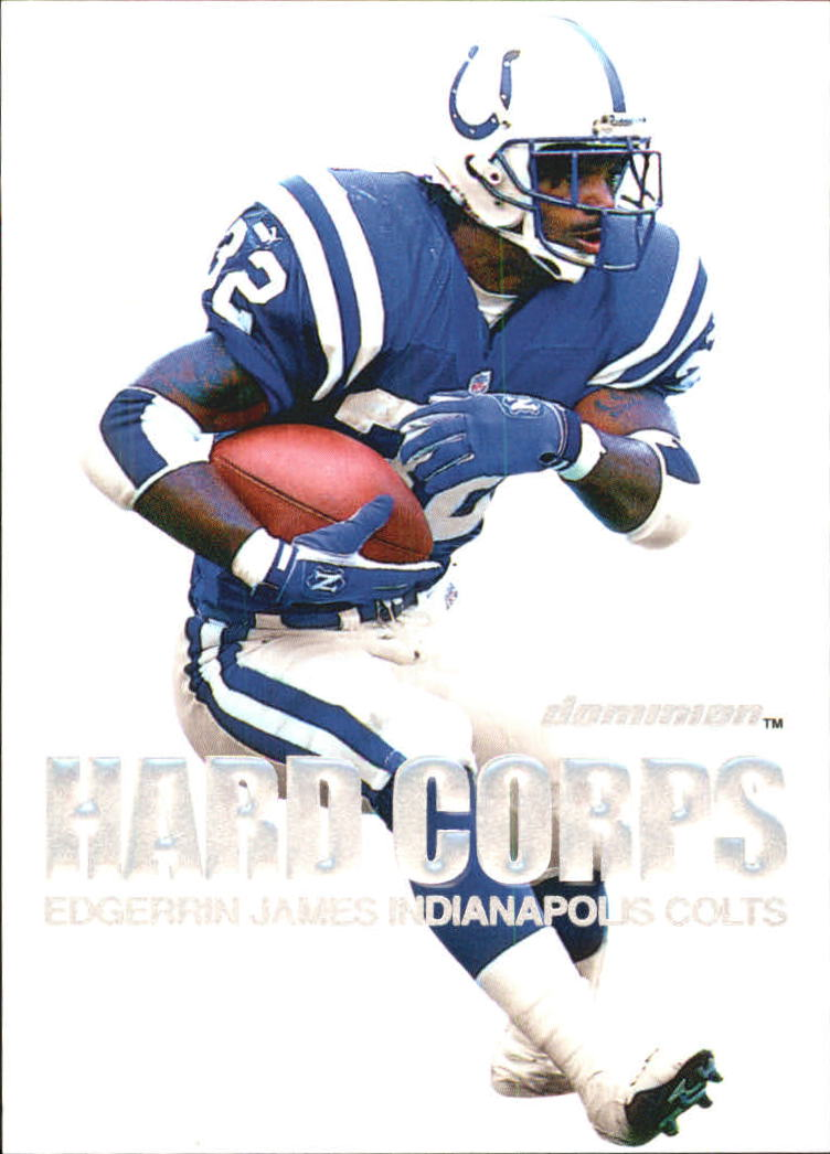 2000 SkyBox Dominion Hard Corps #10 Edgerrin James