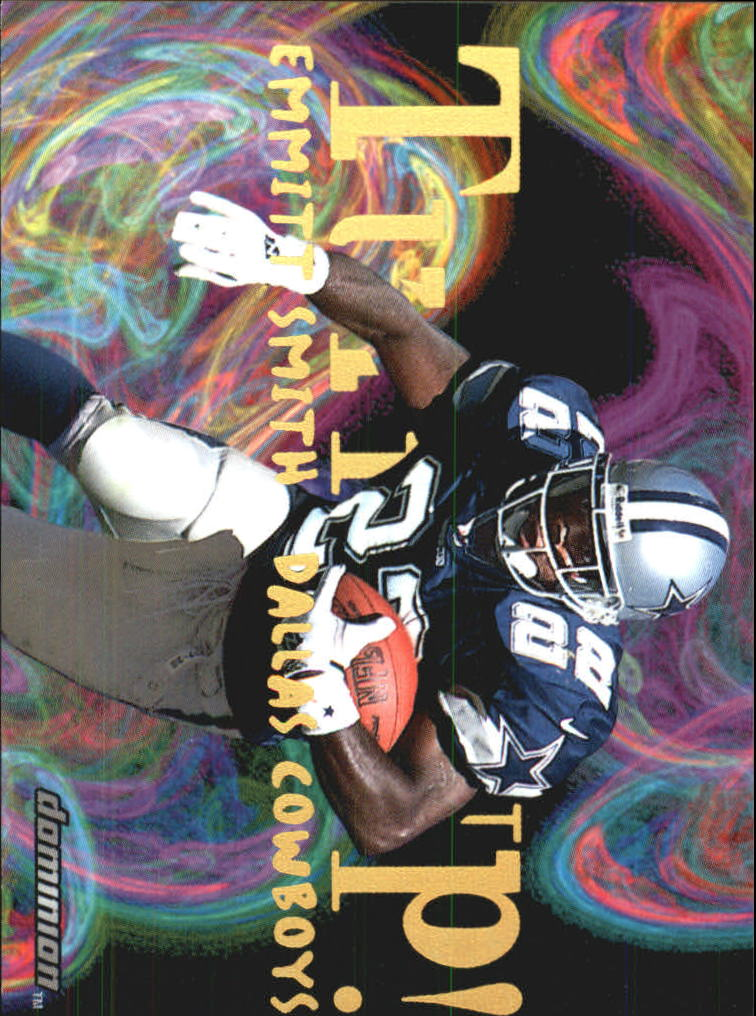 2000 SkyBox Dominion Turfs Up #5 Emmitt Smith
