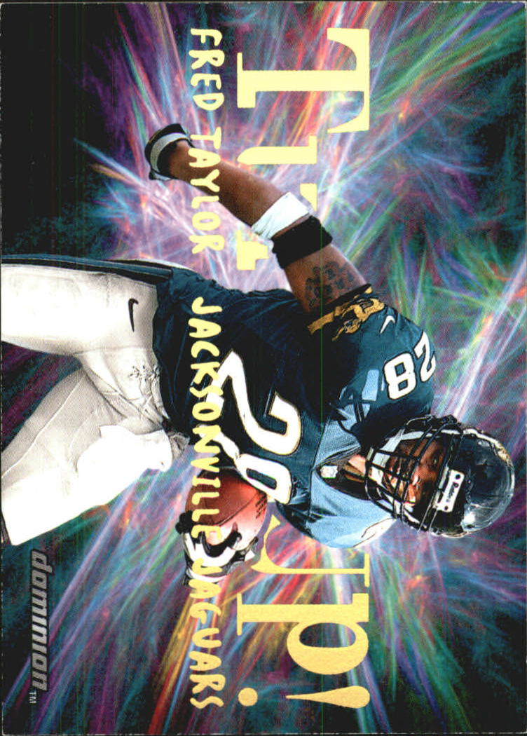 2000 SkyBox Dominion Turfs Up #7 Fred Taylor