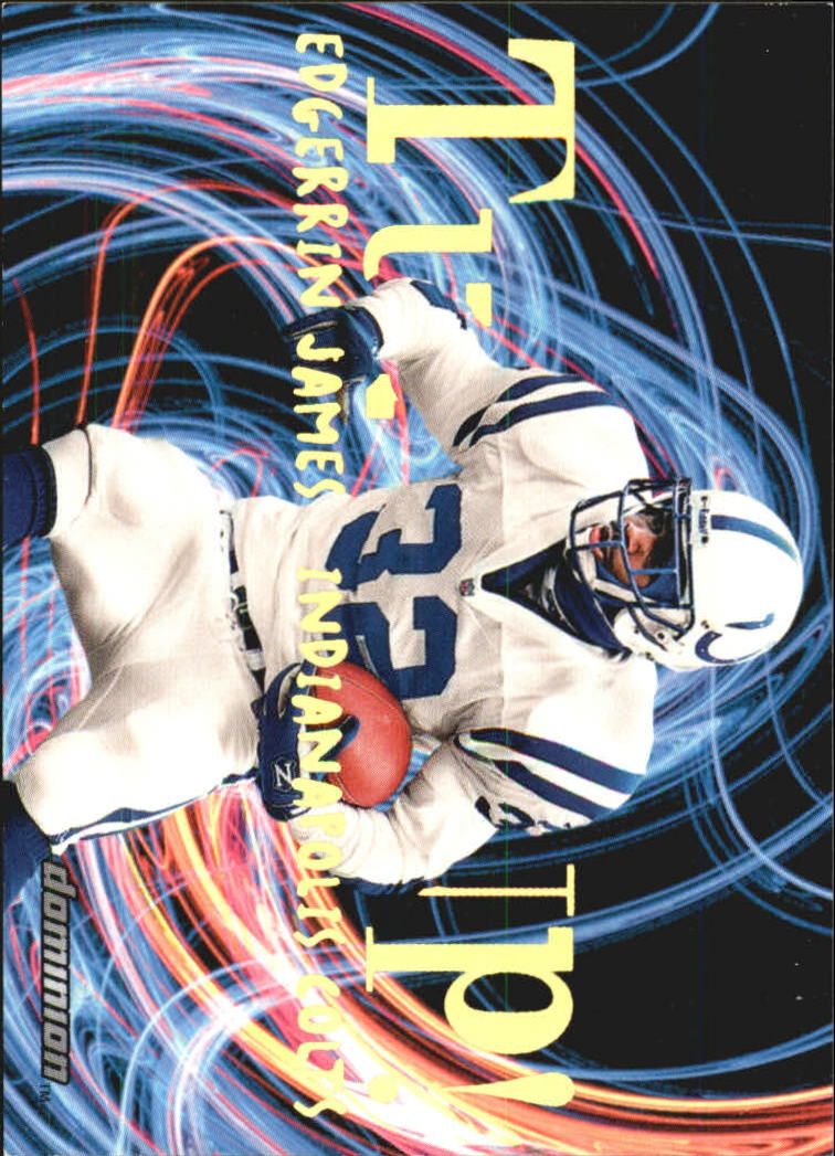 2000 SkyBox Dominion Turfs Up #8 Edgerrin James