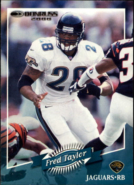 2000 Donruss #71 Fred Taylor