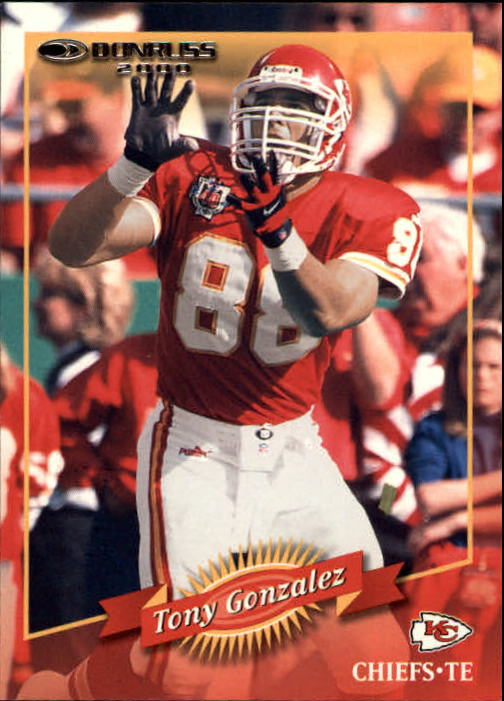 2000 Donruss #76 Tony Gonzalez