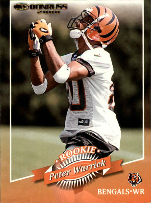 2000 Donruss #170 Peter Warrick RC